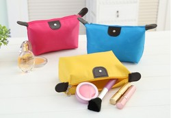 Wholesale Avon multicolor custom waterproof nylon cosmetic bag, beauty nylon tabs cheap make up cosmetic bags