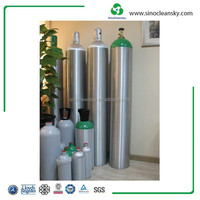 EN DOT Industrial Gas High Pressure Seamless Aluminum Cylinder