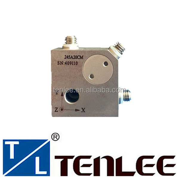 High temperature tri-axial accelerometer vibration sensor