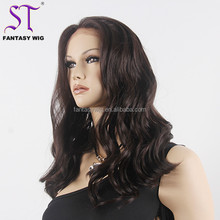 Wholesales Eco Friendly Synthetic Wigs High Quality Front Lace Curly Hair Wigs