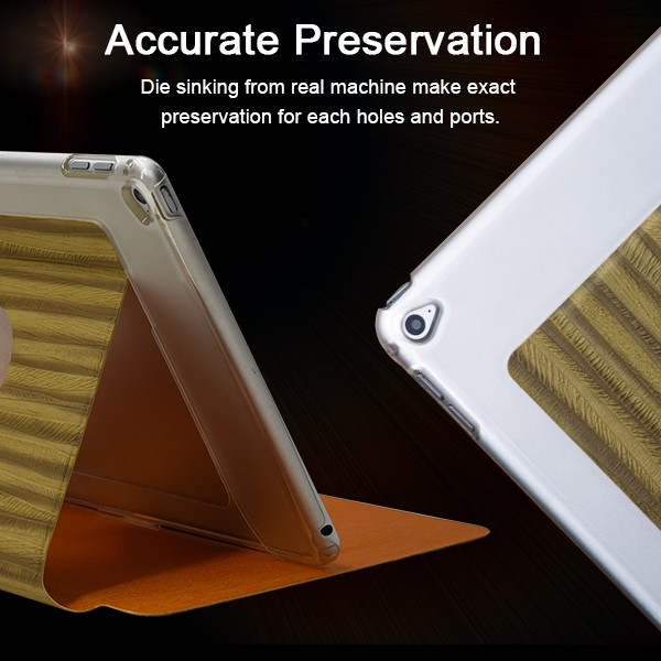 Most Popular Wooden Grain Tablet Leather Case for Samsung Galaxy tab P7500