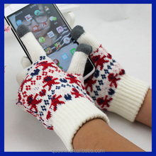 Smart Phone magic gloves with screen touch function