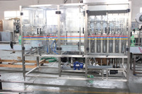 Linear type lubricating oil bottling machine line