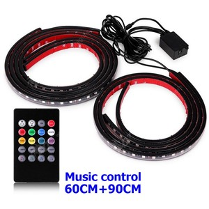 RGB Car LED Chassis Lamp Underbody Glow Light 5050 LED Strip Atmosphere lamp for all car