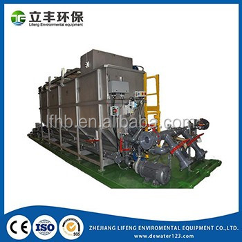Easy Maintenance Solid Wastewater Separation Sewage Treatment Equipment DAF