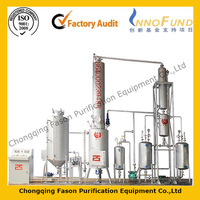Hot Selling and reliable running used engine oil refining machine with different capacity