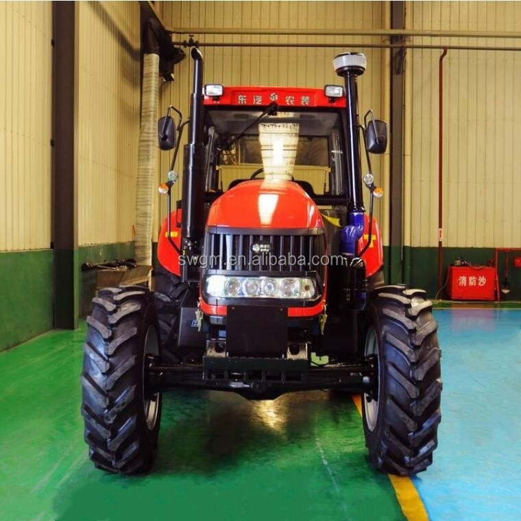 Hot selling 130 HP 4x4 4WD China cheap Big Farm Tractor with cabin