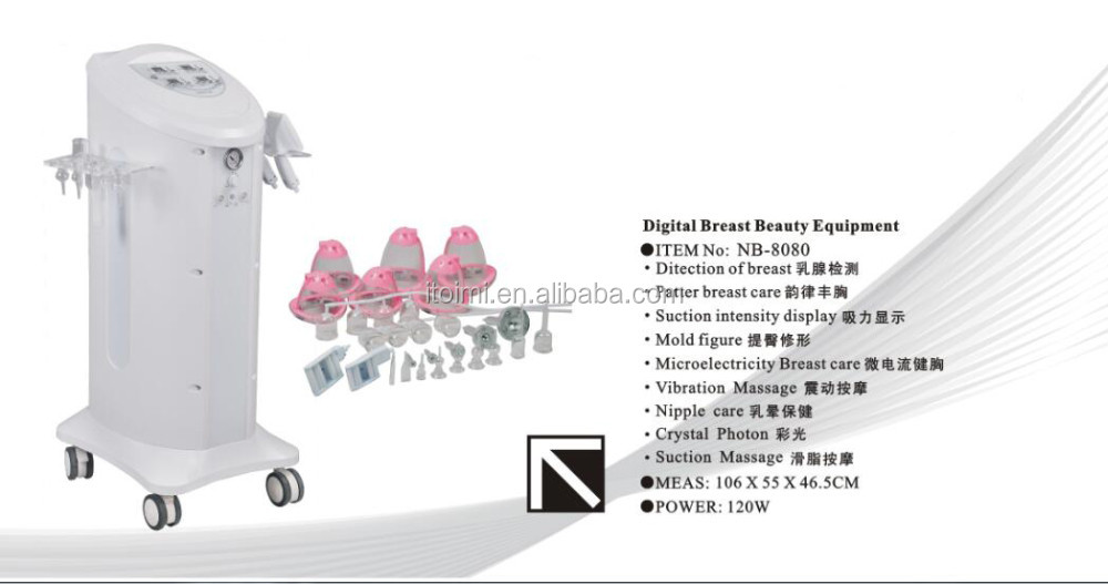 Digital breast beauty equipment breast firming equipment beauty salon equipment Brease enhance machine nipple care machine