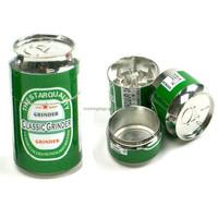 4 grinder wholesale magnetic 4 part grinders pop can metal herb grinder