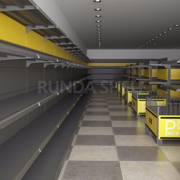 used supermarket shelves marketing backdrop pop up stands convenience store shelf