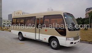 25-30 Seats Gasoline Coster Bus for Sale