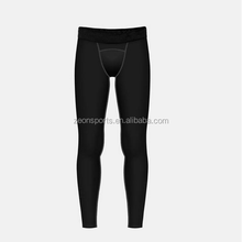OEM FACTORY Sports Leggings Mens Gym Compression wear Running Tights Anti-Bacterial black tights