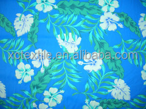 sweet girl bikini fresh flower digital print fabric nylon/spandex fabric China manufacturing