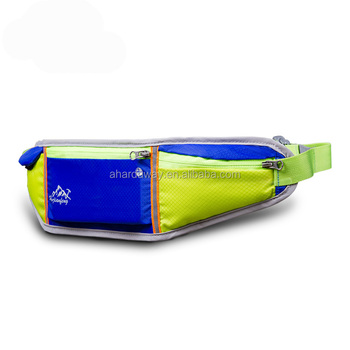 Chinese production nylon ultra-thin outdoor waist bag