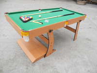 Foldable Game Table 6FT 3 in 1 Function Multi Game Table: Pool,Pingpong and Hockey
