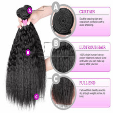2015 hot sale Brazilian Kinky Straight Yaki Free Hair Weav hair packs