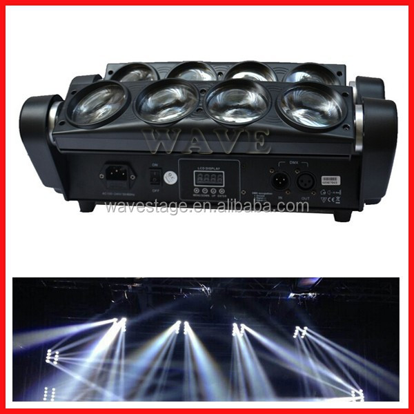 WLED 1-14 led wall washer light rgb dmx 512 control professional stage spotlight