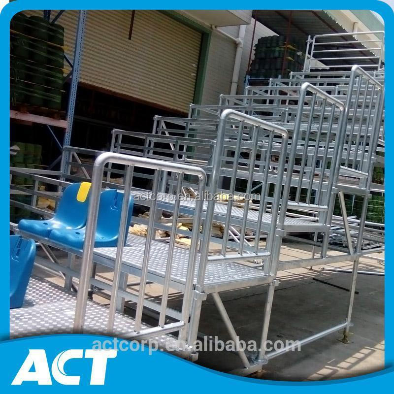 Popular temporary metal grandstand seating for arena