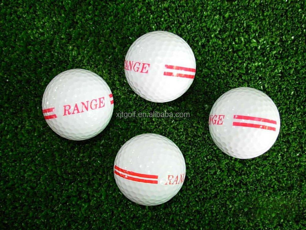 New Design Bulk Trick Novelty Two Layer range Golf Balls