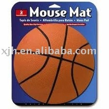 New Design Silicon Basketball Mouse Pad