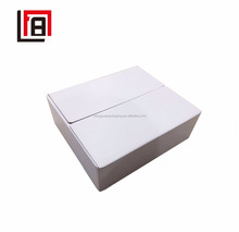 Plain White Corrugated Cardboard Carton Food Packing Box for Bags of Milk