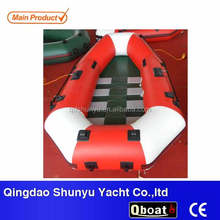 High speed inflatable portable boat pvc rubber dinghy for sale