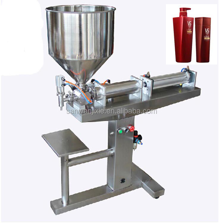 electric full stainless steel jam and fruit sauce filler for small business