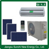 Chinese professional manufacturer 9000btu 12000btu 90% ACDC hybrid air conditioning solar powered