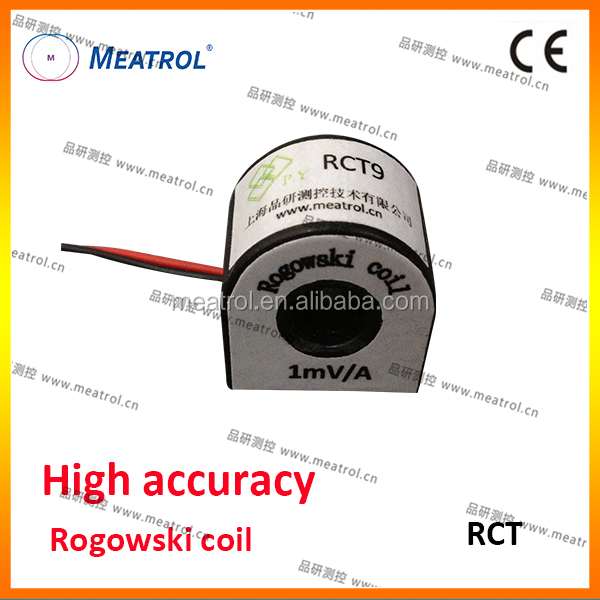 Not damaged by large overloads with high accuracye Rogowski coil Flex current transformer RCT
