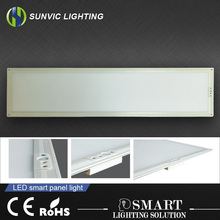 automatic PIR motion sensor recessed ceiling led panel light 1200x300