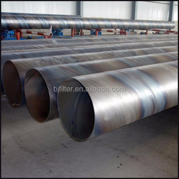 water well casing screen spiral round steel 88 tube