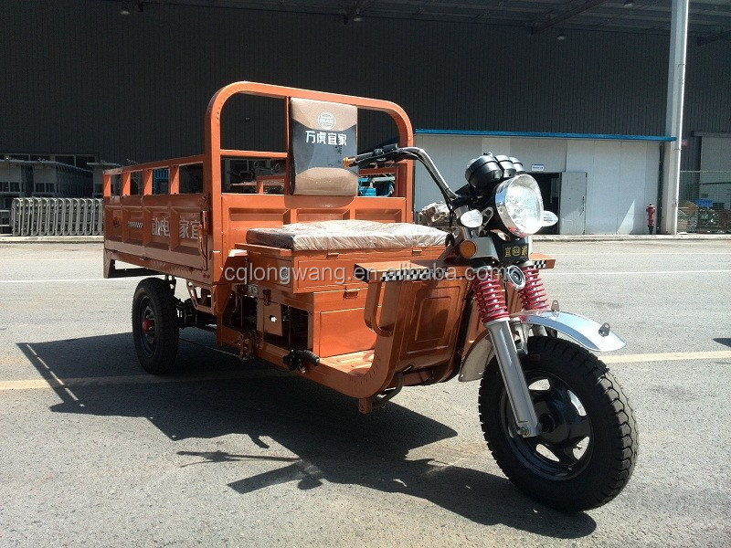 Heavy load cargo electric tricycle adults/hot sale 1500W Hybrid power new cargo bajaj three wheeler price