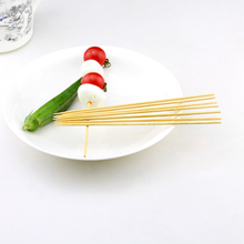 Food grade bamboo skewers kebab skewer stand