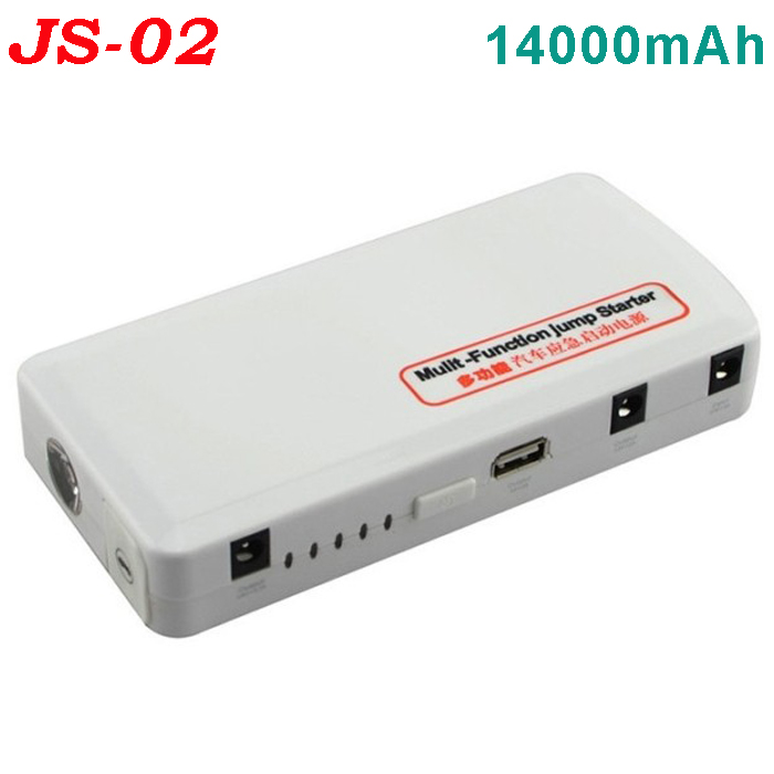 TOP SALE Car emergency tool JS02 14000mAh multi-function car jump starter for 12V vehicles car eps power bank