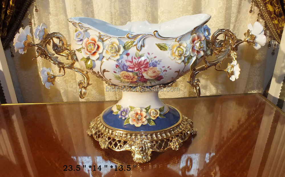 European Style Antique Porcelain Home Decoration French