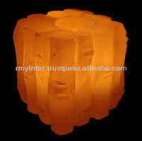 Salt Lamps/Metal Cage/ Metal Basket/ Tealights/ Natural Lamps/ Crafted Lamps/ Animal Salt/ Granulate/ Running Salt VGT5