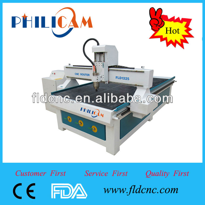 Hot sale!10%discount! China Jinan PHILICAM FLD1325 software for cnc routers