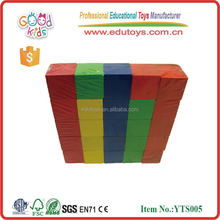 Wholesale Teaching Resource Educational Promotion Toys Wooden Color Cube