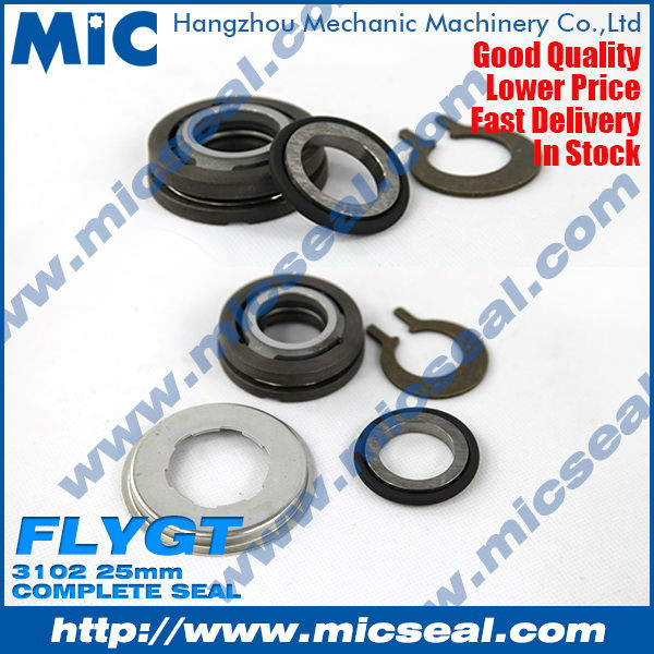 Dual Mechanical Pump Seal for Flygt 3102 Pumps