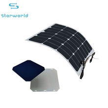 20w-200w Photovoltaic Monocrystalline Flexible Solar Cell Panel Module