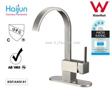 Long neck Single Handle Ceramic Valve Kitchen Faucet