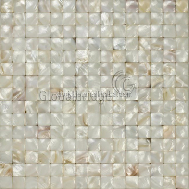 white mother of pearl shell mosaic for home&wall&living room