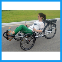 250W recumbent trike electric tricycle motorized tricycle for adults