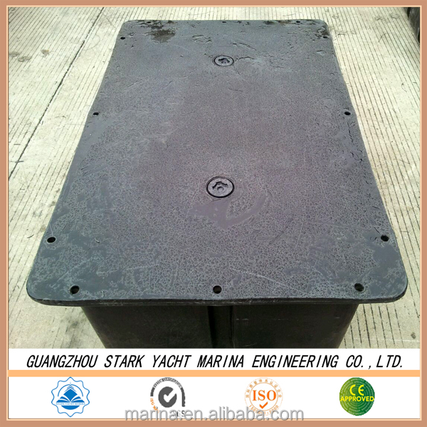 popular and best selling rotational plastic Water Floating Platform for sale