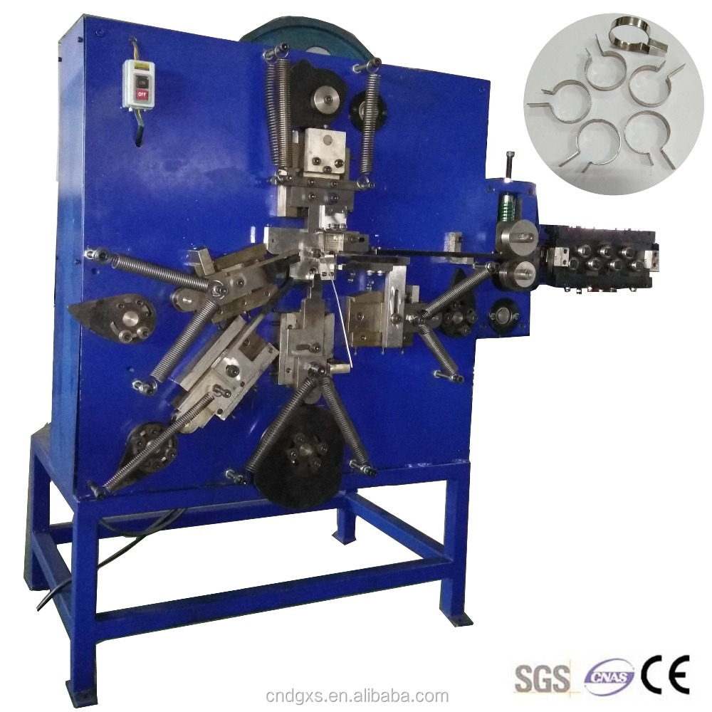 Automatic Stainless Steel Snap Spring Making Machine