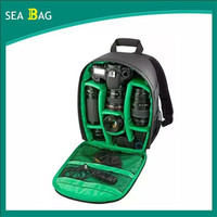 2016New Photography Digital DSLR Camera Bag Backpack Waterproof Photo Camara Bags Case
