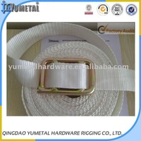 White Color Webbing Sling With Buckle