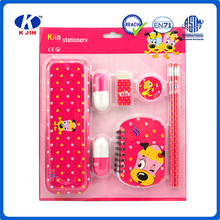 wholesale customized stationary set of 8 pcs