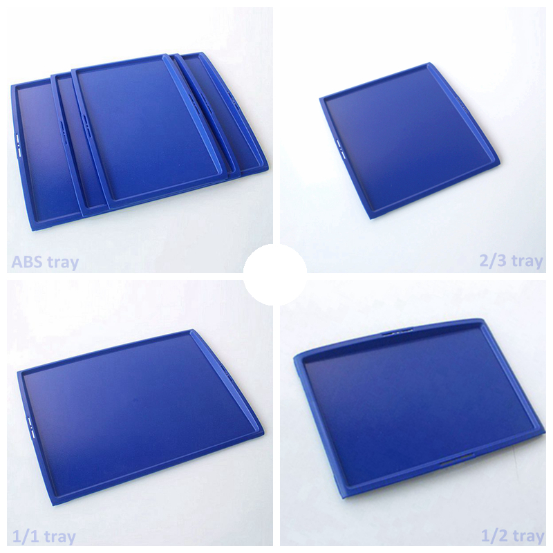 Catering anti slip ABS atlas airline tray