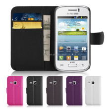 Flip Wallet Leather PU Case Cover For Samsung Galaxy Fame S6810